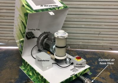 Wrap-Blower-Unit