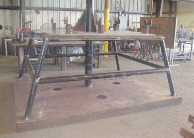 Generator Lifting Frame S20180 and Dispersant Manifold Panel 001